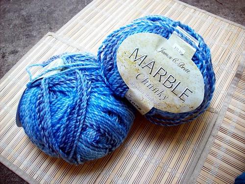 Yarn for Granny's shawl