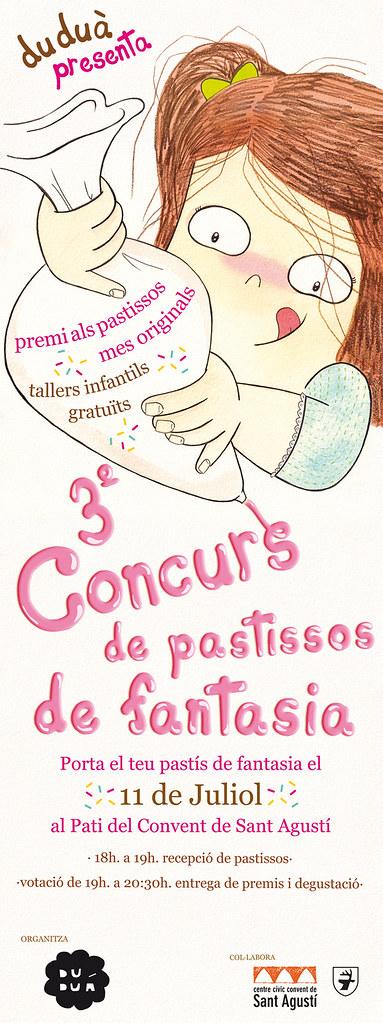3r Concurso de pasteles de fantasía // Fantasy cake contest