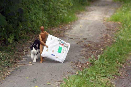 Hämtar post