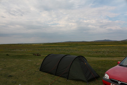 Camping on the Machair