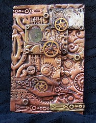 Polymer Clay ACEO Steampunk