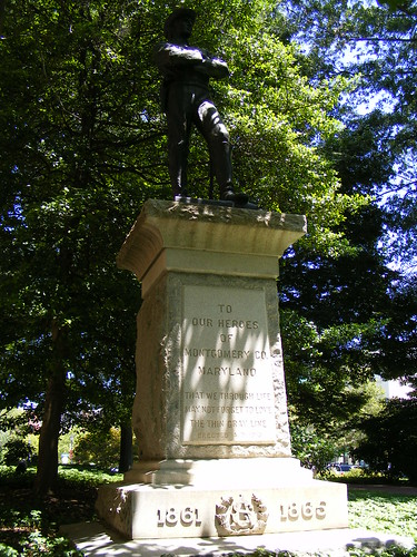 Confederate Memorial, Rockville Town Center (1)