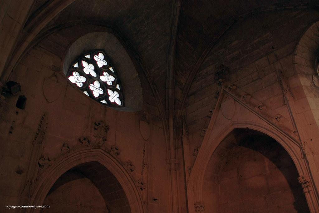 Beaucoup de détails gothiques réhaussent la beauté de l'Abbaye