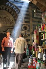 Damascus, Suq (blauepics) Tags: city houses light architecture licht unesco east arab stadt architektur syria bazaar middle altstadt osten damaskus syrien häuser arabisch mittlerer