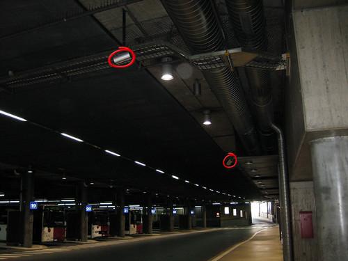 Videokameras Busbahnhof TPF Fribourg