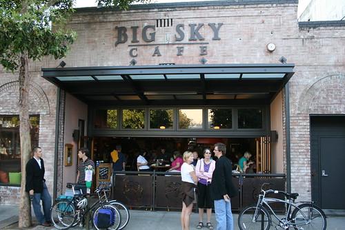 the BIG SKY CAFE