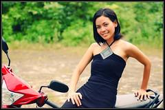 Funshot with Amy (deejoy) Tags: beauty asian bokeh philippines d70s portraiture cebu pinay filipina pcc funshot cebuana cebusugbo deejoynaranjophotography