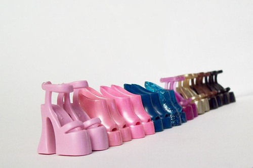 SHOES! (thank you, blythephotos!) by partymonstrrrr, on Flickr