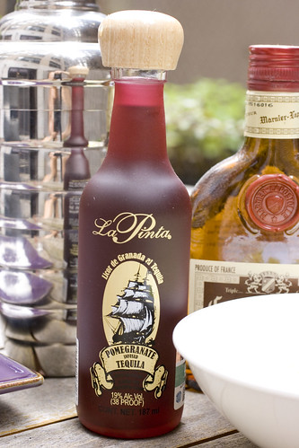 La Pinta Pomegranate infused Tequila