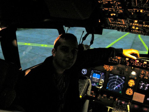 Sat in the 737NG simulator.