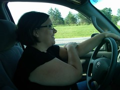 Francesca Driving