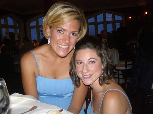 Meg and Lauren