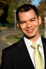 the corporate man (-.André.-) Tags: portrait man money corporate profile tie australia melbourne business card credit garry