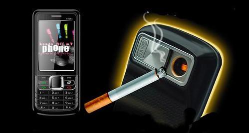 Telefoon aansteker