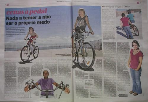 «cenas a pedal - Nada a temer a não ser o próprio medo»