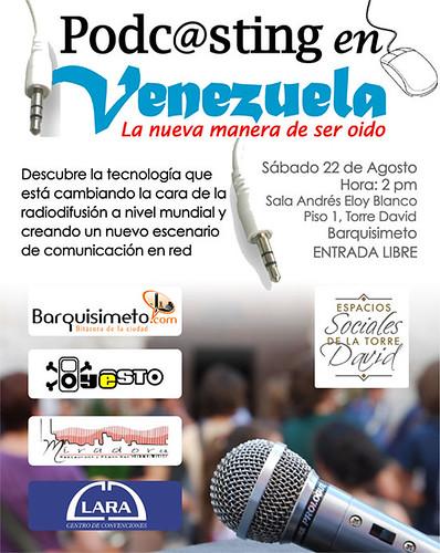 Podcasting en Venezuela - La nueva manera de ser oido