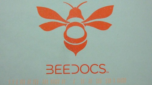 BEEDOCS寄來的明信片