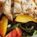 Georgia Peach Salad with Grilled Chicken at Coastal Kitchen