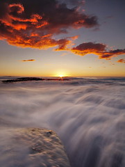 Bungan Return (Tim Donnelly (TimboDon)) Tags: ocean sea sunrise rocks australia nsw cokin bungan