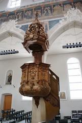 Kanzel in der Dreifaltigkeitskirche in Konstanz