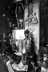 DSC_0252-1 (Chaumurky) Tags: london museum skulls skeleton cards shrine dolls display african magic creepy collection foresthill voodoo sacrifice curse horniman hornimanmuseum blackmagic