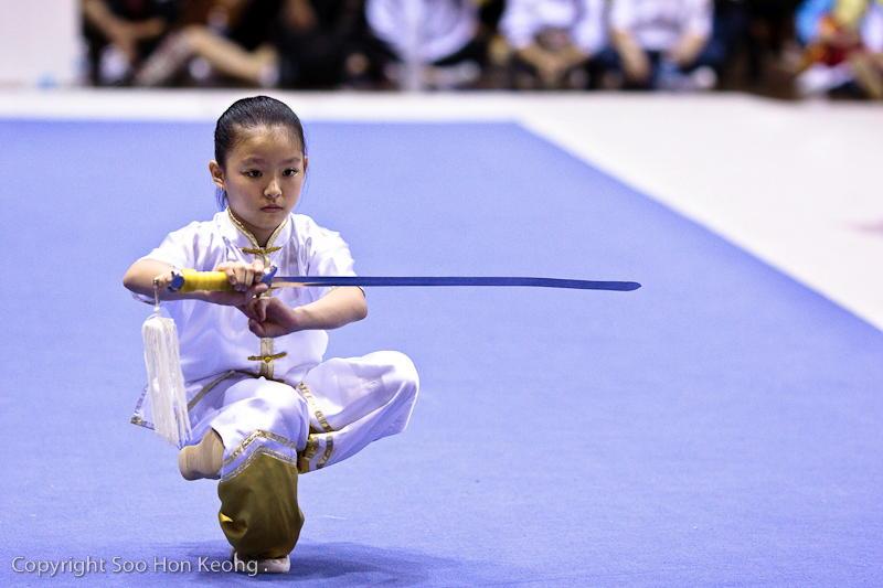 Wushu Performance (stance) @ KL, Malaysia