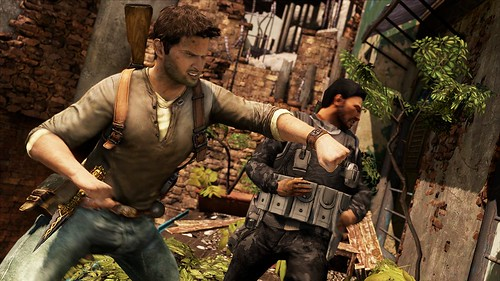 Uncharted 2 Urban warfare melee