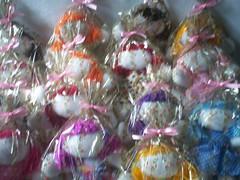 bonecas (sandyartes) Tags: bonecas decorao chaveiro enfeite