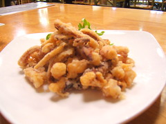 fried calamari strips