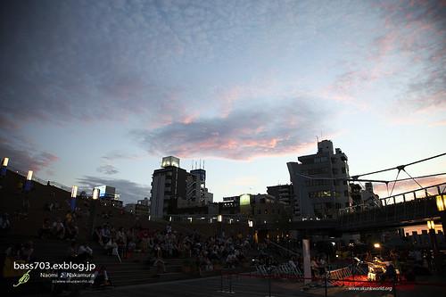 水都大阪2009 (湊町船着場+ジャズボート)