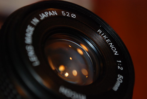 The Rikenon 50mm