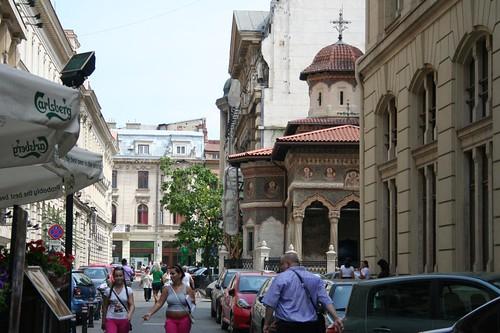 Mosteiro Stavropoleos em Bucareste