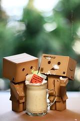 貪吃danbo (sⓘndy°) Tags: sanfrancisco canon toy toys box figure figurine sindy kaiyodo yotsuba danbo revoltech danboard 紙箱人 阿楞 amazoncomjp