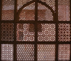 Les extraordinaires Moucharabieh de Fatehpur Sikri (oushebti) Tags: rajasthan inde fatehpur sikri moucharabieh