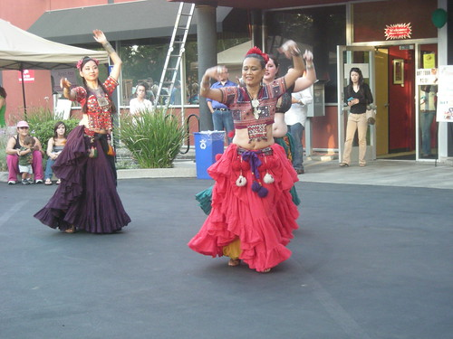 Belly Dancers at Second Saturday