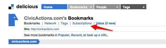 civicactions.com_s Bookmarks on Delicious