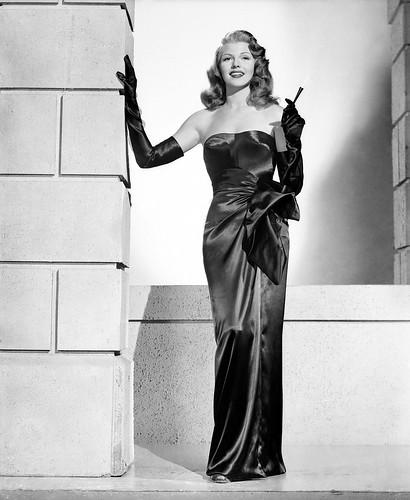 Rita black dress