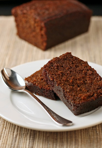 Steamed Gingerbread Pudding
