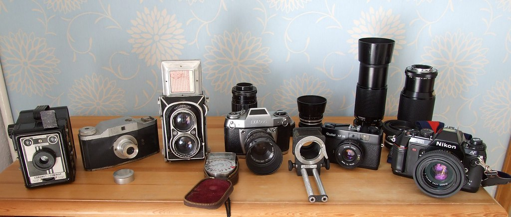 Cameras which have shaped my photographic life