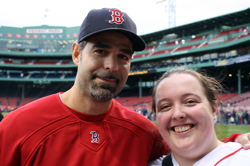 Mike Lowell and me by you.