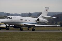OY-CKF - Private - Dassault Falcon 2000 - Luton - 090312 - Steven Gray - IMG_1183