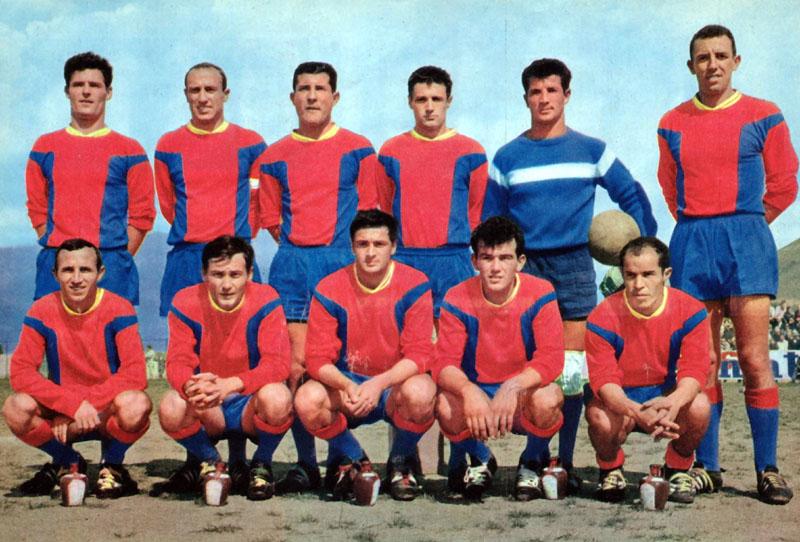 gazélec ajaccio 1962-63