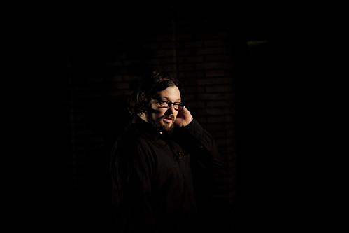 Mike Conelly, de Wolf Eyes, premio al artista más simpático del festival