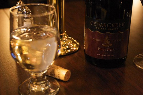 2006 Platinum Pinot Noir from Cedar Creek