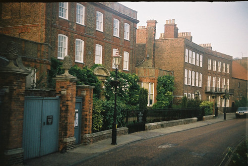 Wisbech peckover house captured on vintage halina super 35x