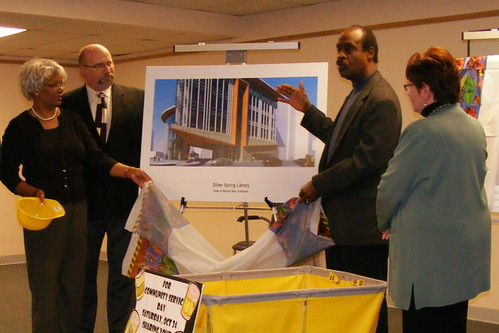 Unveiling The New Silver Spring Library