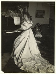 [Woman playing the piano.]
