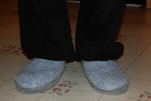 Rykert's Slippers - finished 01