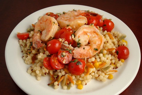 Garlic Basil Shrimp