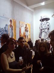 Tian x Stew (Tian (Chris a.k.a)) Tags: street urban streetart paris france art painting stencil paint contemporary tian exhibition spray peinture exposition aerosol bombe pochoir contemporain stencilhistoryx †ian itinerrance